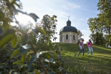 Blick auf die Josefskapelle in Sigmaringen