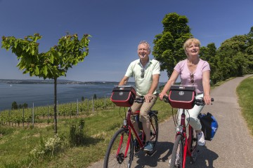 Radtour zu den Bodenseegärten