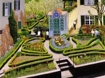 Schöne Parks und Gartenanlagen sind der perfekte Standort für einen Sundowner am Bodensee