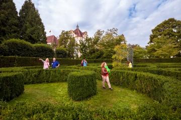 Irrgarten in den Parkanlagen von Kloster und Schloss Salem