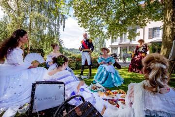 Kaiserliches Gartenfest auf dem Arenenberg