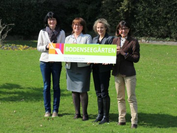 Die Bodenseegärten präsentieren sich im Seeburgpark Kreuzlingen