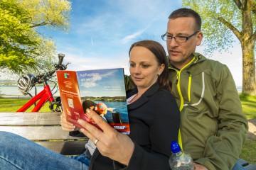 Griffbereite Broschüre mit Ausflugsideen