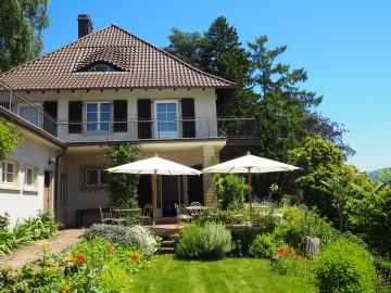 Garten des Museum Haus Dix in Hemmenhofen