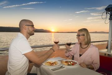 Kulinarische Untersee-Rundfahrt auf der MS Seestern von Schifffahrt Lang