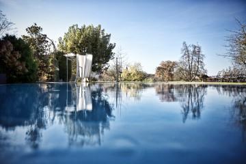 Badevergnügen auch im Herbst: