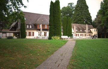Hotelgelände direkt am Bodenseeufer