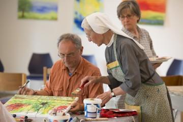 Mal- und Töpferkurse mit den Hegner Schwestern im Hotel St. Elisabeth