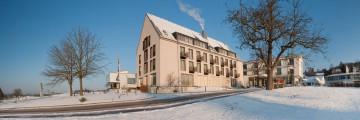 Das Hotel St. Elisabeth im Winter
