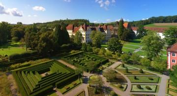 Das ehemalige Kloster Salem und seine Gartenanlage