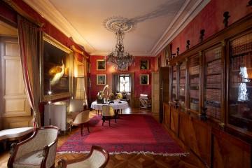 Bibliothek des Napoleonschlosses
