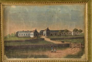 Die Aussenanlage und Haus Longwood