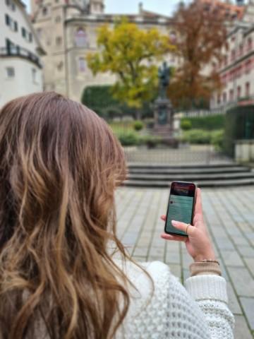 Mit dem Smartphone geschichtsträchtige Orte entdecken
