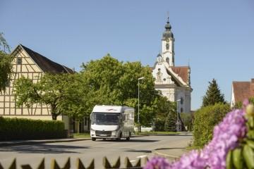 In Oberschwaben-Allgäu im fahrenden Zuhause urlauben