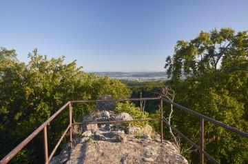 Rundumblick von der Burgruine Homburg