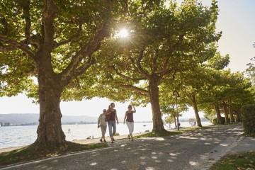 Spaziergang am Bodenseeufer