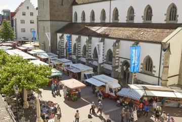 Wochenmarkt in Radolfzell