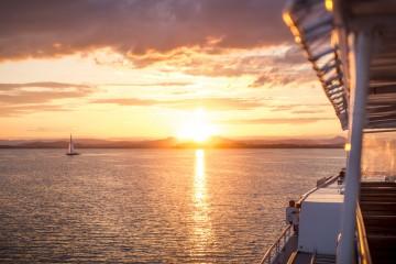 Sonnenuntergang auf dem Bodensee erleben