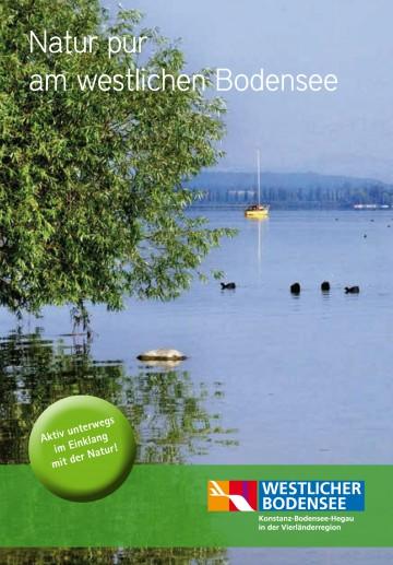 """Die Broschüre """"Natur pur am westlichen Bodensee"""""""