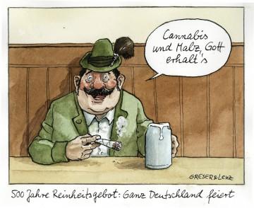 500 Jahre Reinheitsgebot: Ganz Deutschland feiert