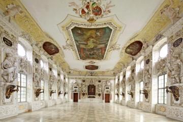 Der Kaisersaal in Schloss Salem
