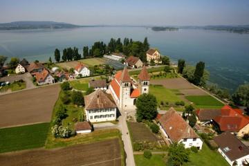 Die Klosterkirche Peter und Paul auf der Insel Reichenau