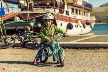 Radtouren für grosse und kleine Gäste