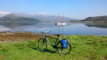 Mit Inselhüpfen entlang der Westküste Schottlands radeln