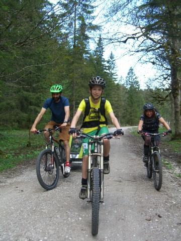 Radtouren für kleine Gäste