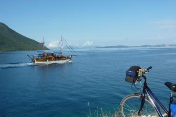 Mit Rad und Schiff auf Tour